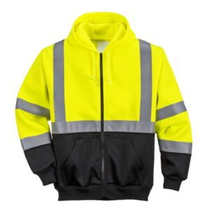 Safety coat yellow