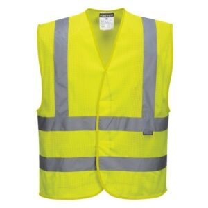 Safety Jacket light yellow