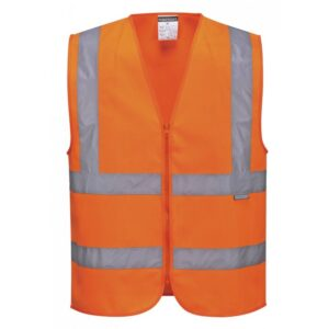 Safety Jacket orange Dark