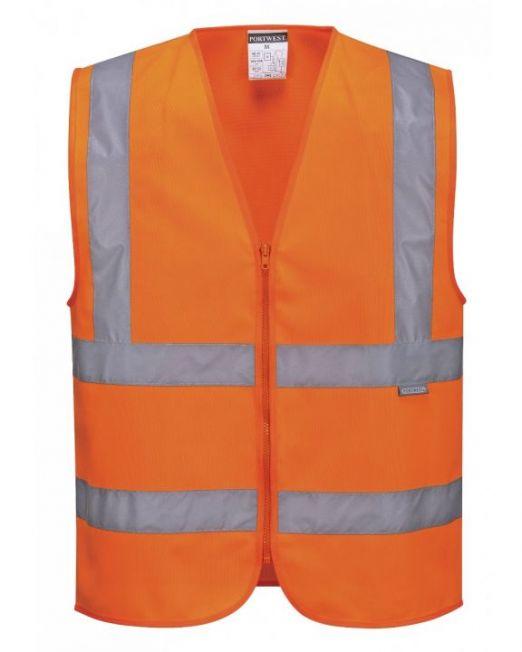 Safety Jacket orange Dark