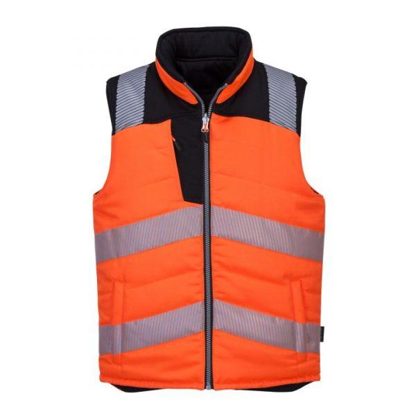 Safety coat Orange Light