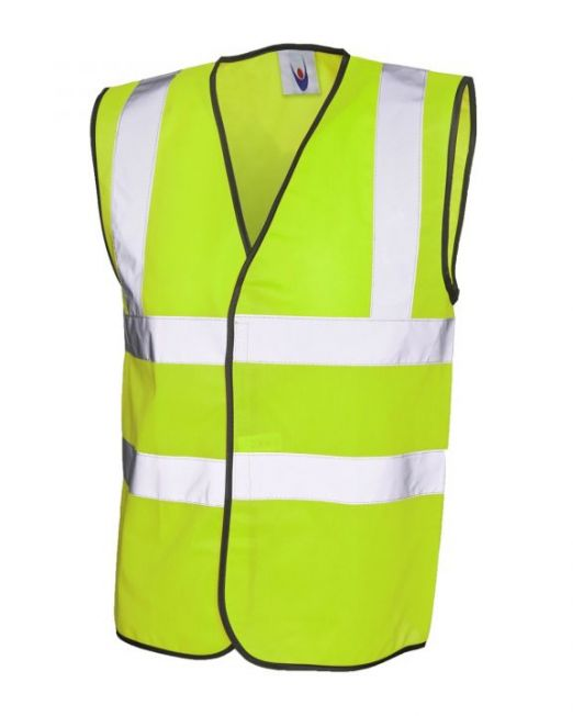 Safety coat yellow Light