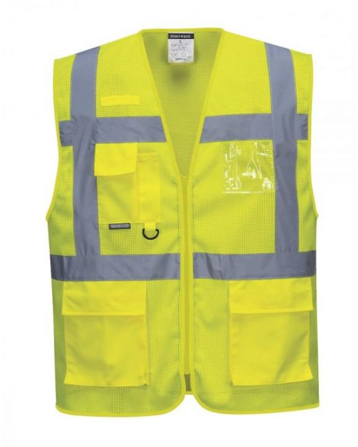 Safety Jacket Yellow